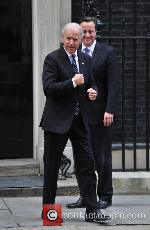David Cameron and US Vice President Joe Biden 9