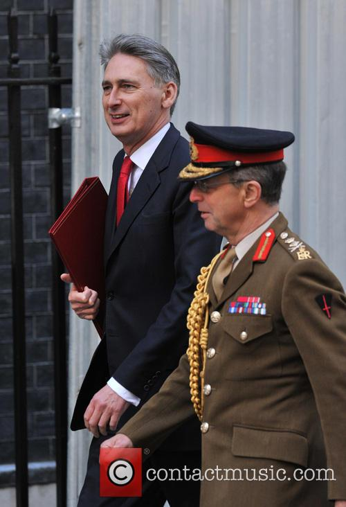 Defence Secretary Philip Hammond, General Sir David Richards and Chief Of The Defence Staff 1