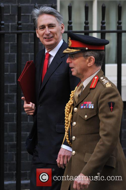 Defence Secretary Philip Hammond, General Sir David Richards and Chief Of The Defence Staff 2
