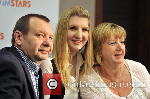 Rebecca Adlington, Parents, Steve Adlington and Kay Adlington 2