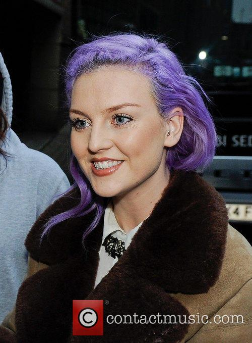 Perrie Edwards arriving at Wolverhampton Civic hall