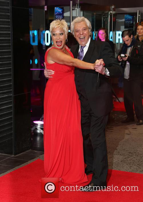 Lionel Blair And Denise Welch - 'Run For Your Wife' UK Film Premiere