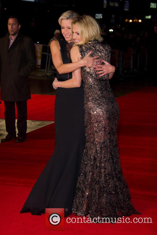 Denise Van Outen and Sarah Harding 7