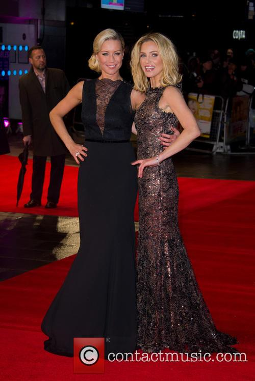 Denise Van Outen And Sarah Harding - 'Run For Your Wife' UK Film Premiere