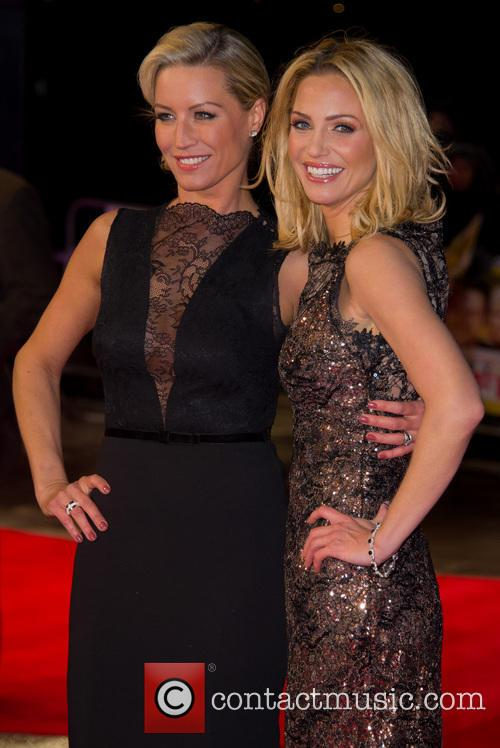 Denise Van Outen and Sarah Harding 10