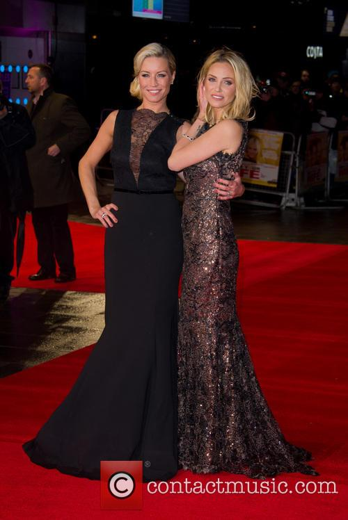 Denise Van Outen and Sarah Harding 11