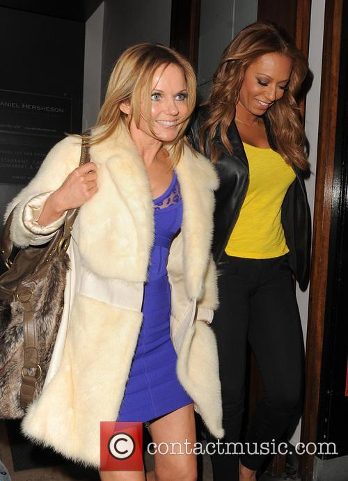 geri halliwell melanie brown mel b the spice girls seen 3483627