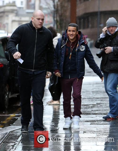Jahmene Douglas and Josh Cuthbert out in Liverpool