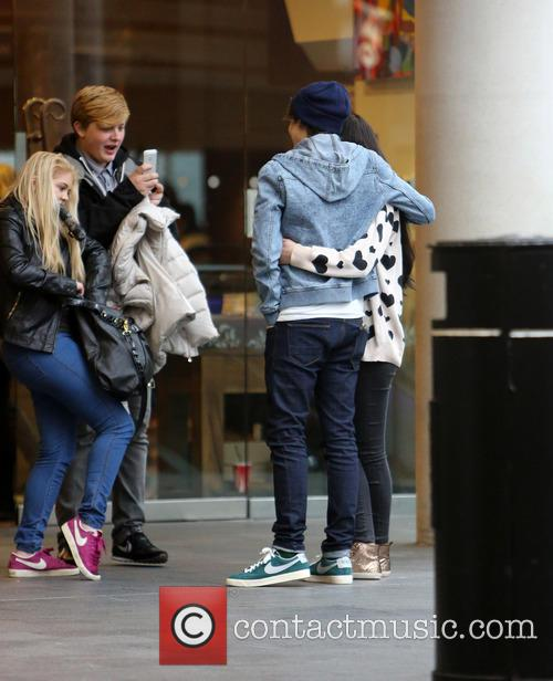 George Shelley and Union J 5