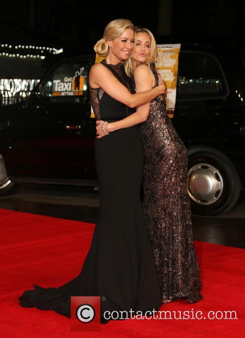 Denise van Outen and Sarah Harding 5