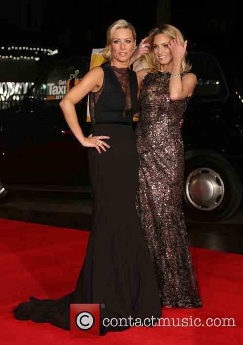 Denise van Outen and Sarah Harding 6