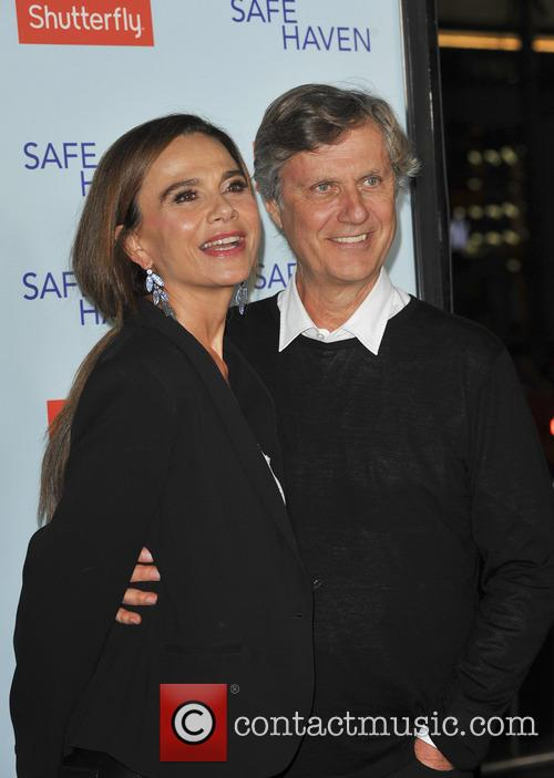 Lasse Hallstrom and Lena Olin 4