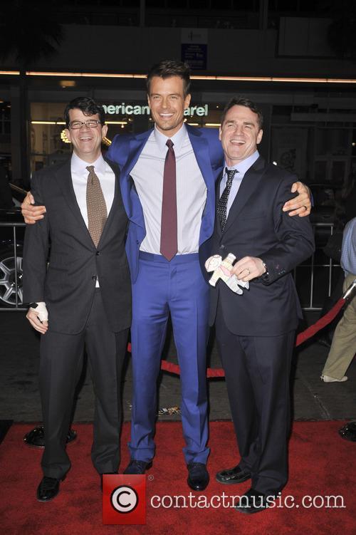 Wyck Godfrey, Josh Duhamel and Marty Bowen 3