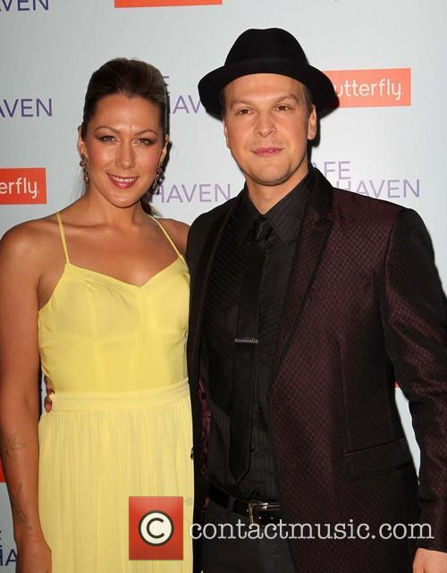colbie caillat gavin degraw premiere of relativity media's 'safe 3488256
