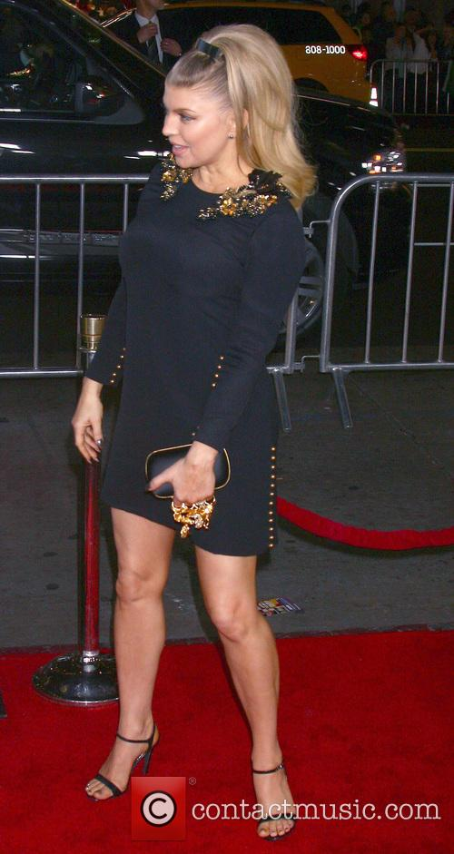 Fergie, Pregnant? Safe Haven premiere