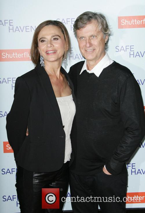 Lena Olin and Director Lasse Hallstrom 3