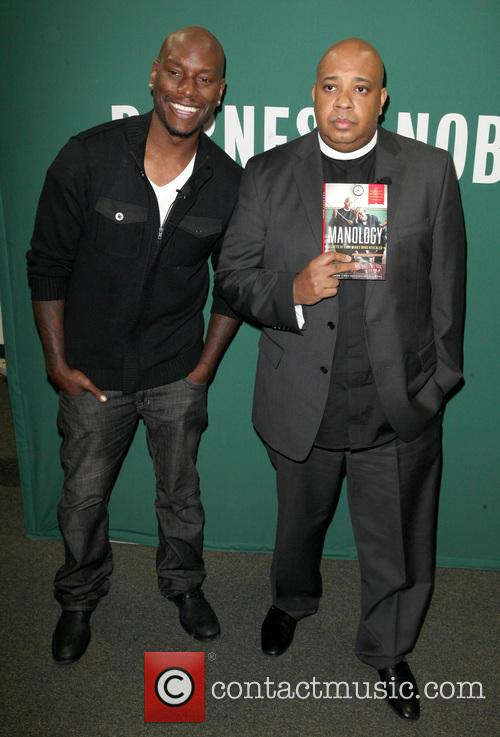 Tyrese Gibson And Rev Run Promote Book