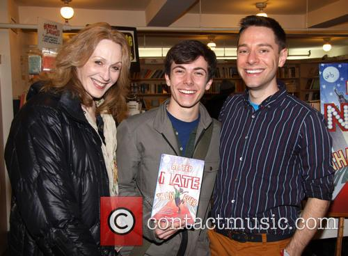 Jan Maxwell, Henry Hodges and Tim Federle 1