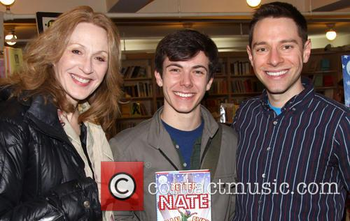 Jan Maxwell, Henry Hodges and Tim Federle 3