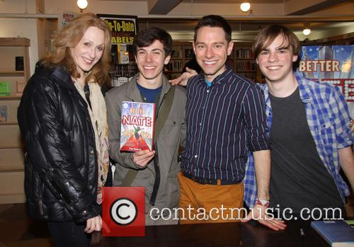 Jan Maxwell, Henry Hodges, Tim Federle and Michael Herwitz 2