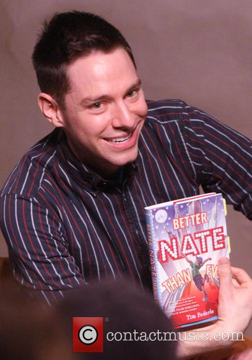 tim federle in store appearance for 'better nate than 3486580