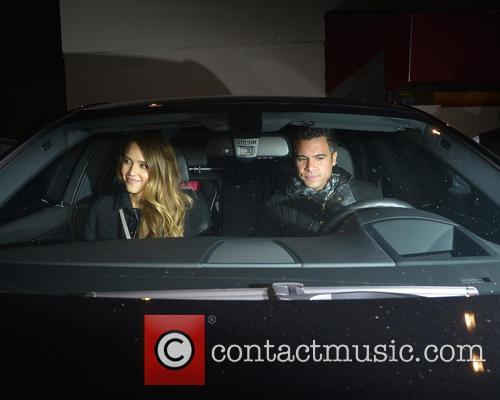 Jessica Alba and Cash Warren 2