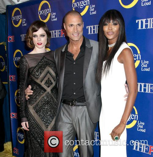 Coco Rocha, Nigel Barker and Naomi Campbell 5