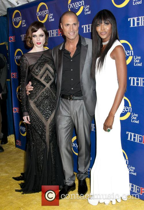 Coco Rocha, Nigel Barker and Naomi Campbell 10