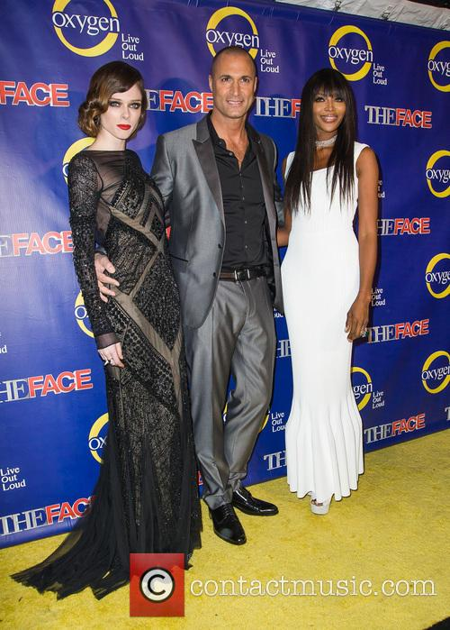 Coco Rocha, Nigel Barker and Naomi Campbell 4