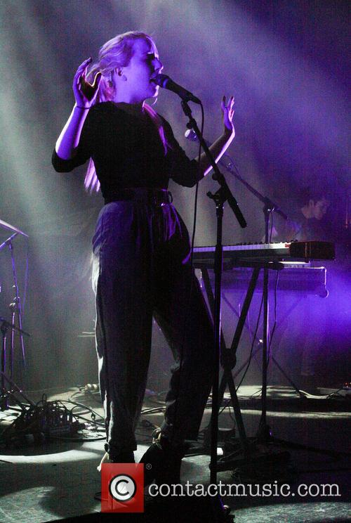 Austra Performing Live