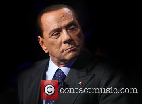 Silvio Berlusconi appears on Rai 3 Ballaro