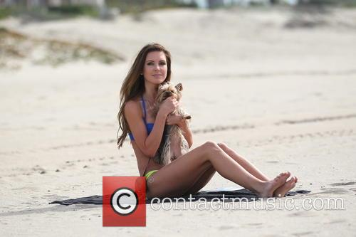 EXCLUSIVE EXCLUSIVE Audrina Patridge at the beach