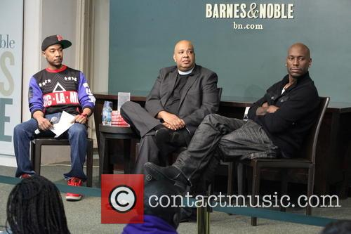 Jermaine Hall, Rev Run and Tyrese Gibson 1