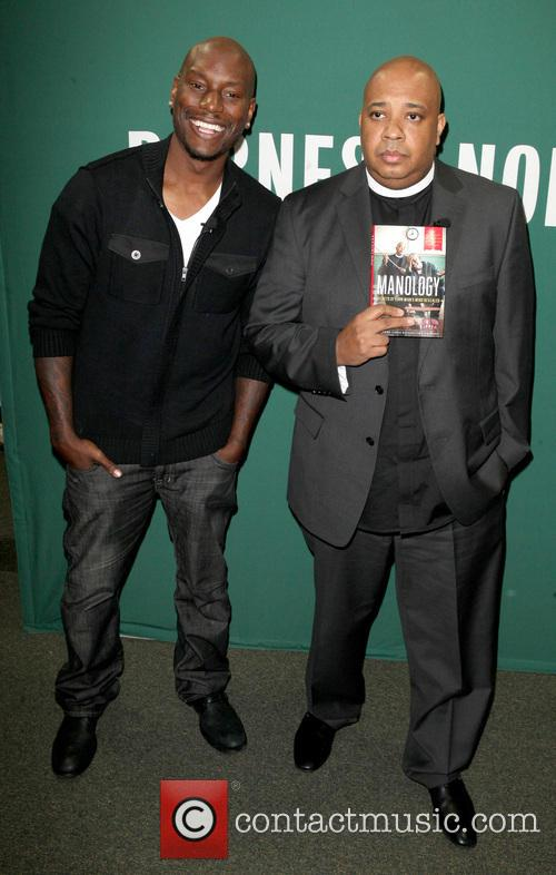 Tyrese Gibson And Rev Run Book Promotion