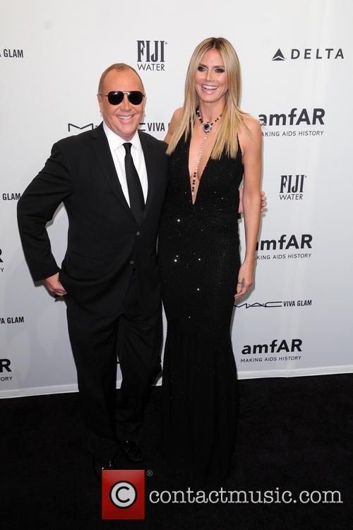 Heidi Klum and Michael Kors 8