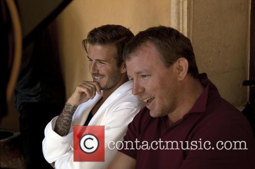 Guy Ritchie and David Beckham 4