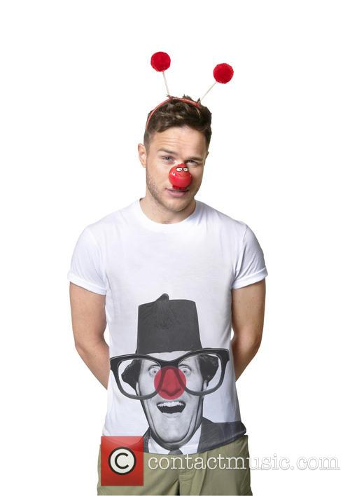 Celebrities join a host of famous faces to model this year's Dinosaur Red Nose and Comic Relief T-shirts designed by Stella McCartney