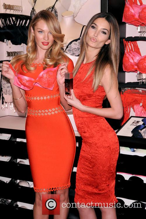 Candice Swanepoel and Lily Aldridge 9