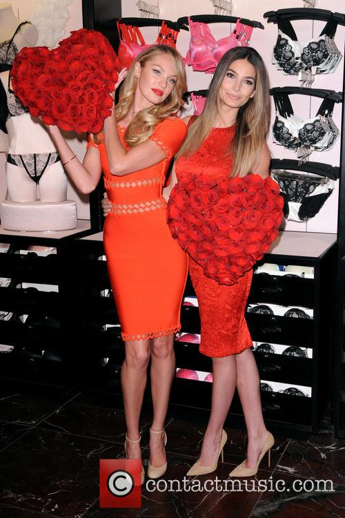 Victoria's Secret Angels share some love for Valentine's...