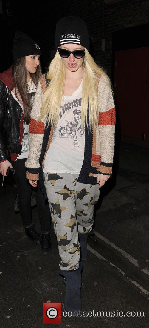 Iggy Azalea In Pyjamas
