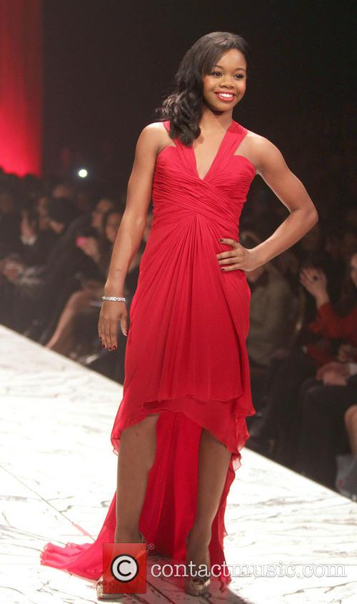 gabby douglas the red dress collection event 3486823