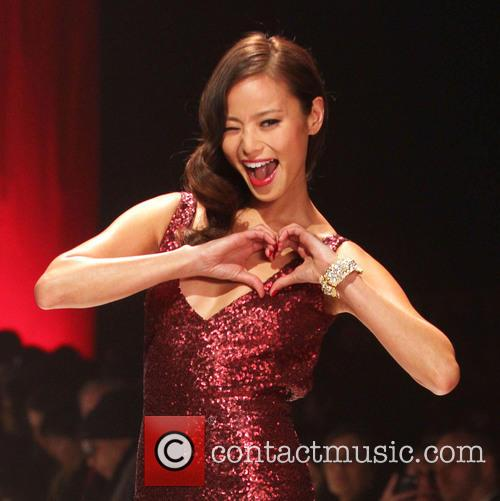 jamie chung the red dress collection event 3486832