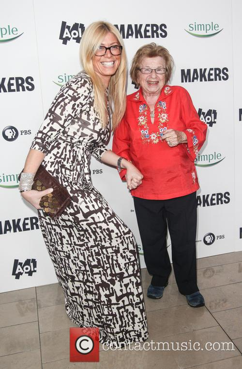 Dr. Ruth Westheimer and Guest 2