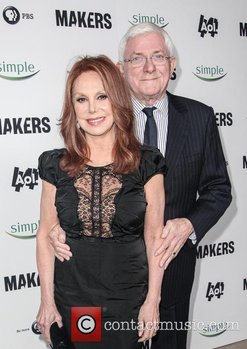 Marlo Thomas and Phil Donahue 2