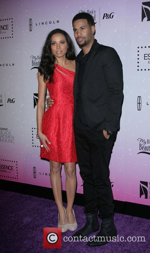 Jurnee Smollett and Husband Josiah Bell 10
