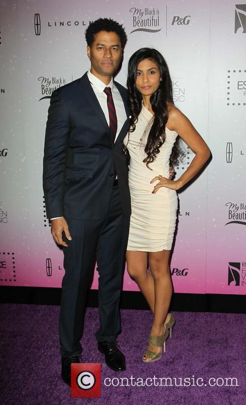 Eric Benet and Manuela Testolini 2