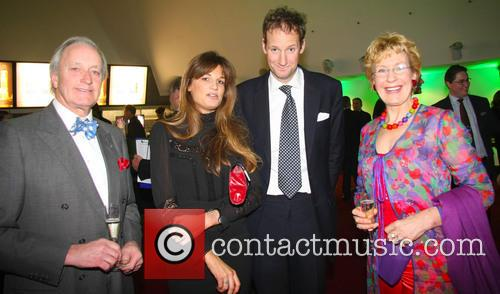 Harry Stourton, Jemima Khan, Christine and Neil Hamilton 1