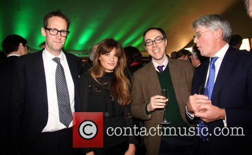 Harry Stourton, Jemima Khan and Lord Ashcroft 4