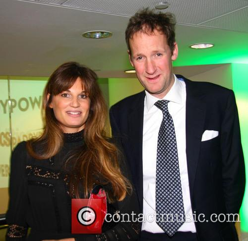 Harry Stourton and Jemima Khan 1