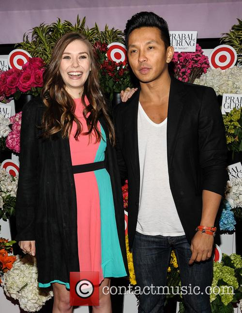 Elizabeth Olsen and Prabal Gurung 8